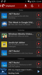 Pocket Casts Screenshot 3
