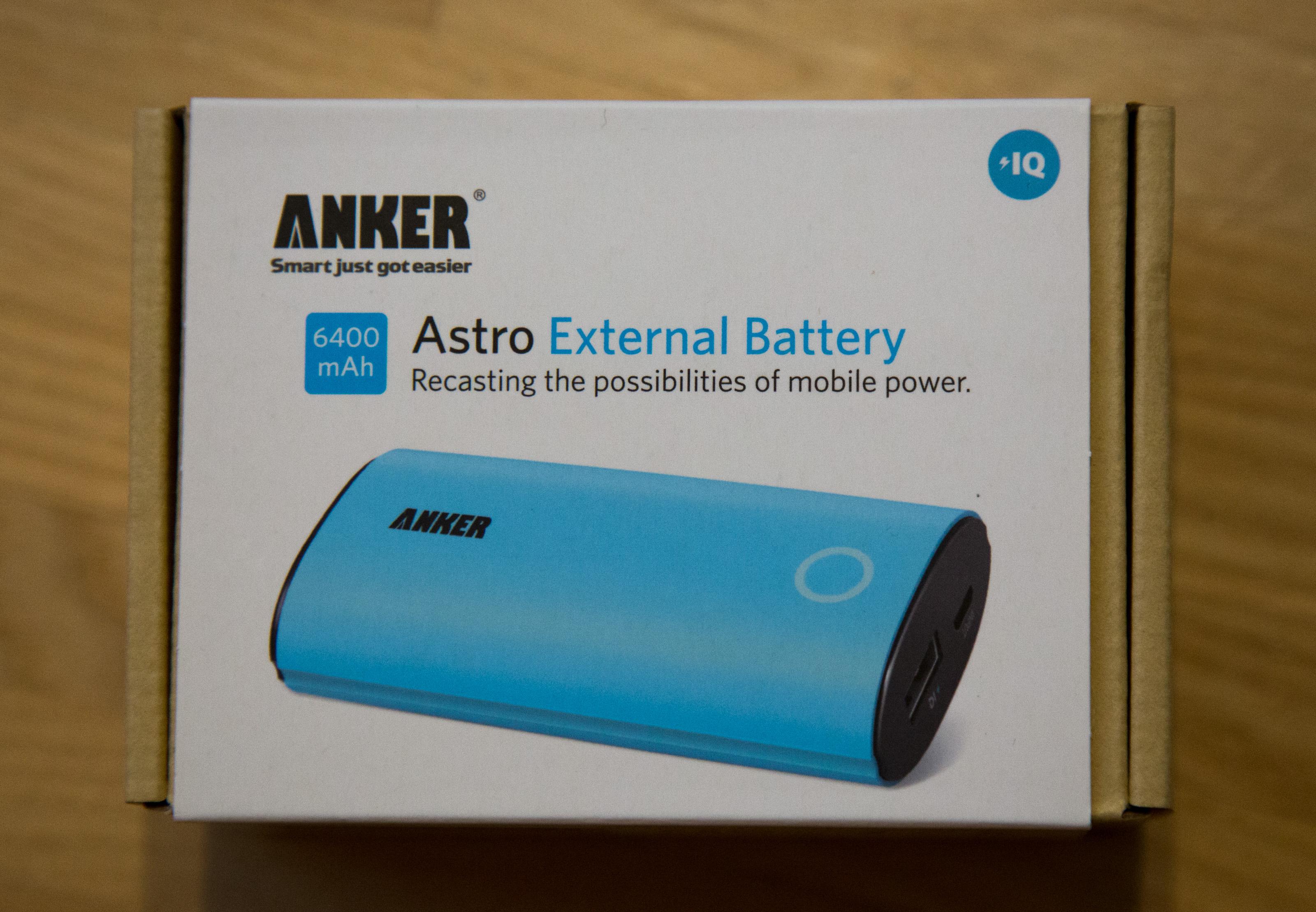 Anker Astro External Battery
