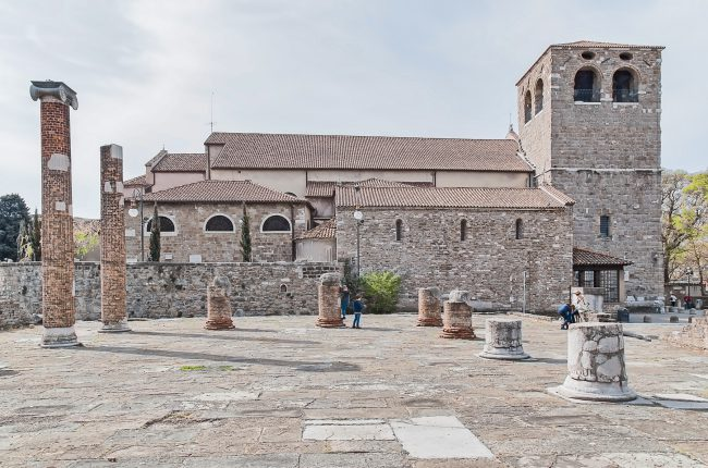 Kathedrale di San Giusto - Triest