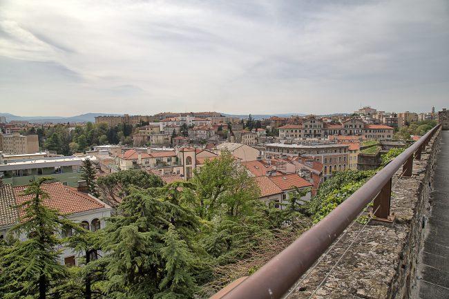Ausblick vom Castello di San Giusto - Triest
