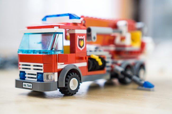 Vollständige Lego-Figur