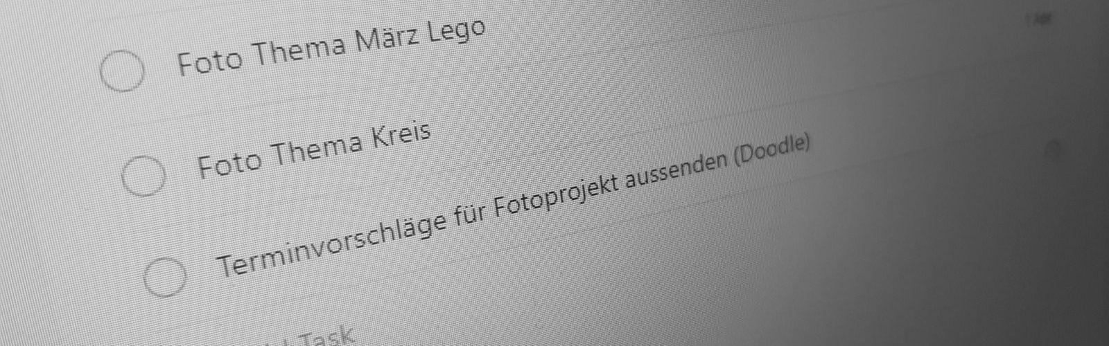 Aufgabenliste | Norbert Eder