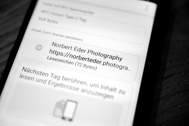 NFC Tags auslesen | Norbert Eder